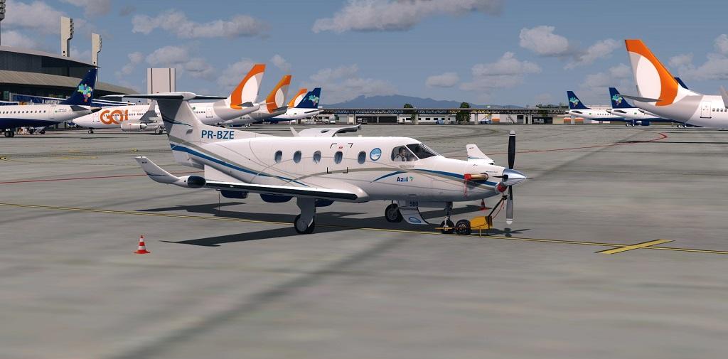 Missão Azul - Pilatus PC12 em ação. 1210