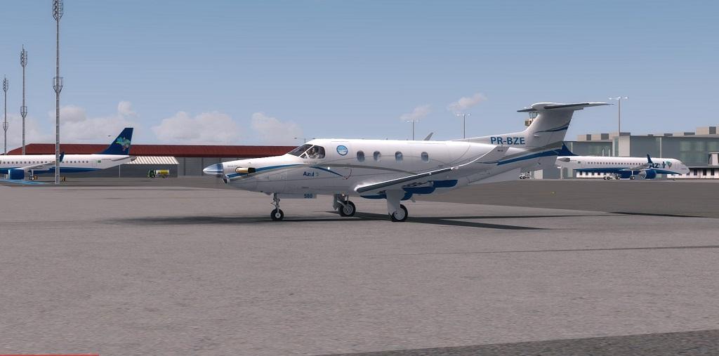 Missão Azul - Pilatus PC12 em ação. 212
