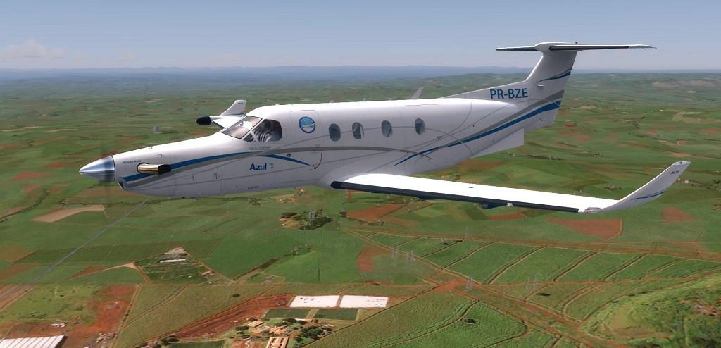 Missão Azul - Pilatus PC12 em ação. 311