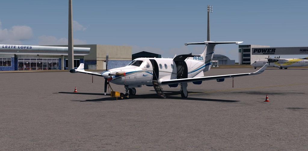 Missão Azul - Pilatus PC12 em ação. 510
