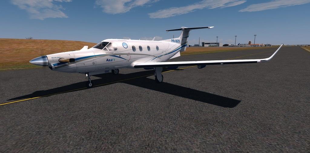 Missão Azul - Pilatus PC12 em ação. 610