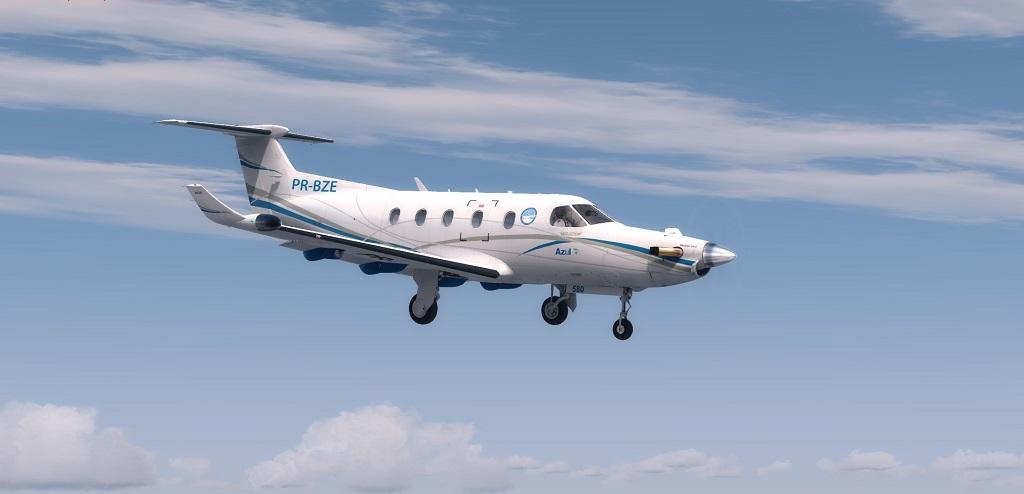 Missão Azul - Pilatus PC12 em ação. 910