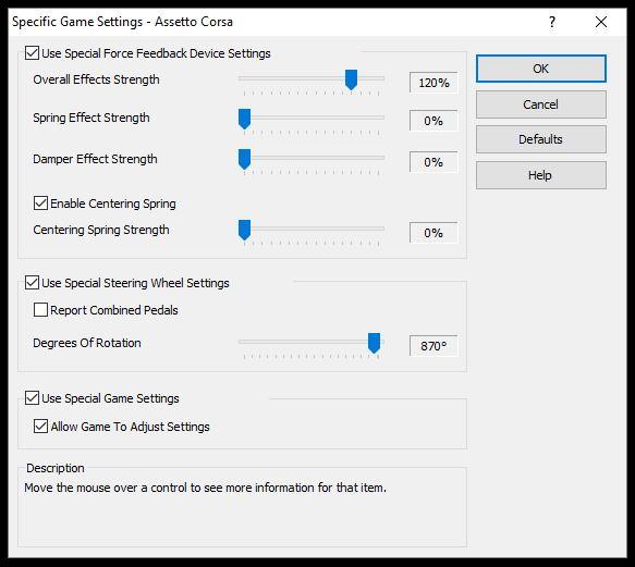 Como sacar el mejor FF - LUT Generator for AC 0.11 Profil10