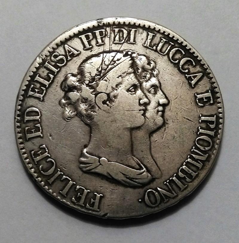 5 FRANCOS, 1807 - LUCCA Y PIOMBINO (Italia) Img_2022