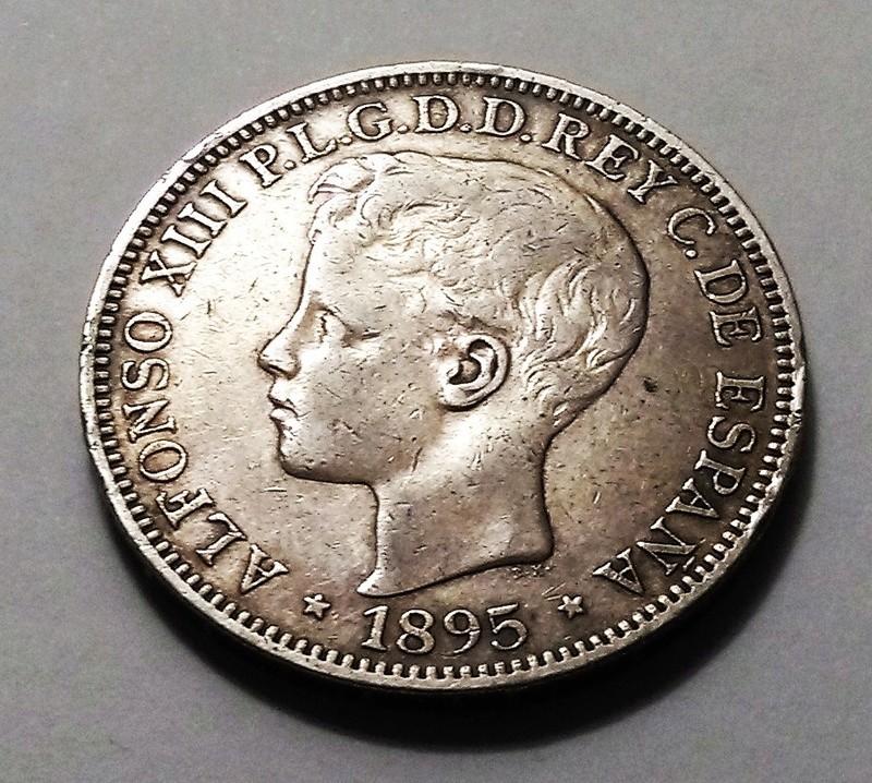 1 peso 1895. Alfonso XIII. Puerto Rico Img_2026