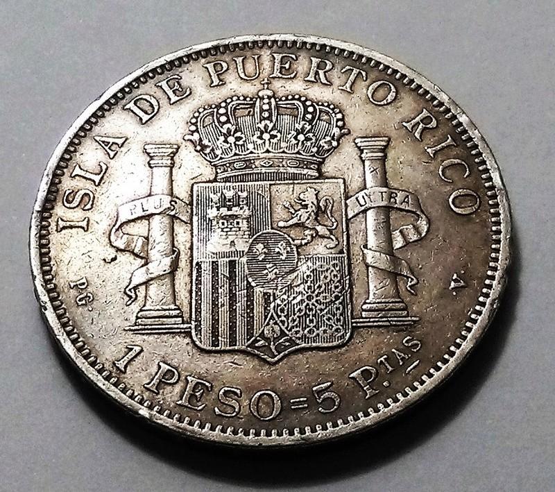 1 peso 1895. Alfonso XIII. Puerto Rico Img_2027