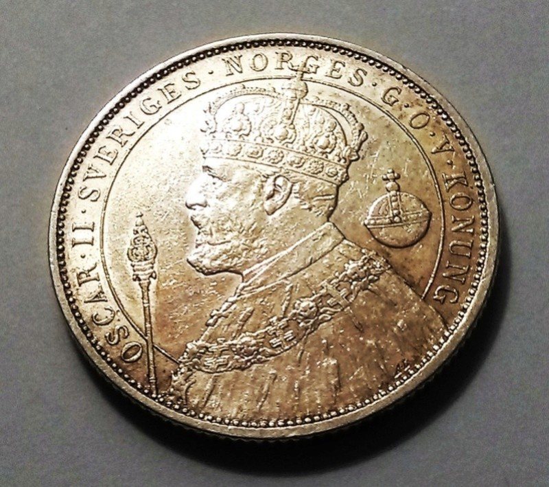 2 Coronas - Suecia, 1897 - Óscar II Img_2029