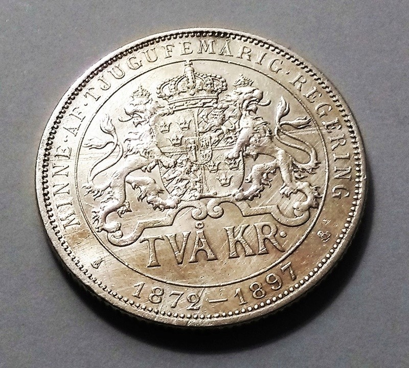 2 Coronas - Suecia, 1897 - Óscar II Img_2030