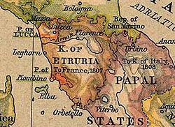5 FRANCOS, 1807 - LUCCA Y PIOMBINO (Italia) Lucca10
