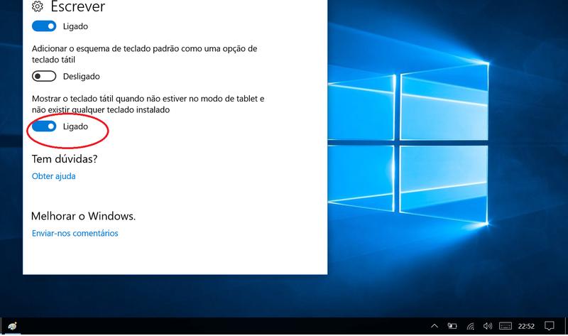 [Resolvido]Monitor Touchscreen - Teclado Virtual - Osk / TabTip Sem_ty10