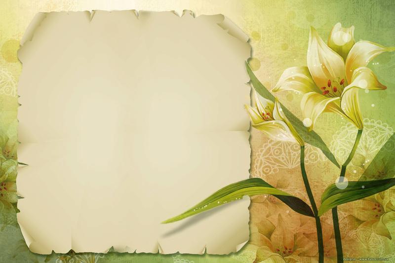 KHUNG HÌNH VIẾT CHỮ, HINH CON CHO DAN *** Floral10