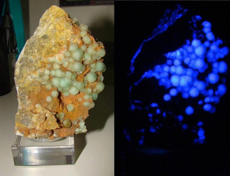 Fotos de minerales fluorescentes 12509910