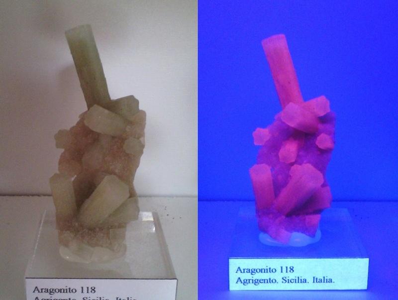 Fotos de minerales fluorescentes 12654410