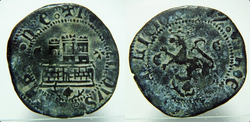 2 Maravedis a nombre de los Reyes Católicos inéditos 1021_r10