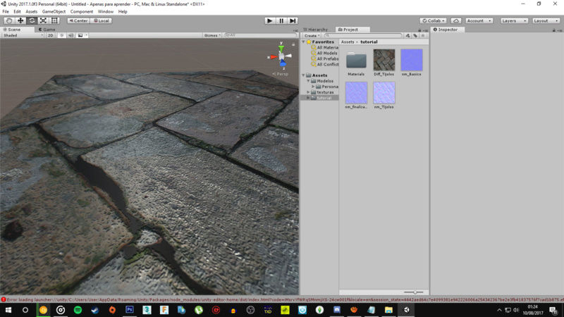 Normal Map | Tutorial | teste em engine! Captur14
