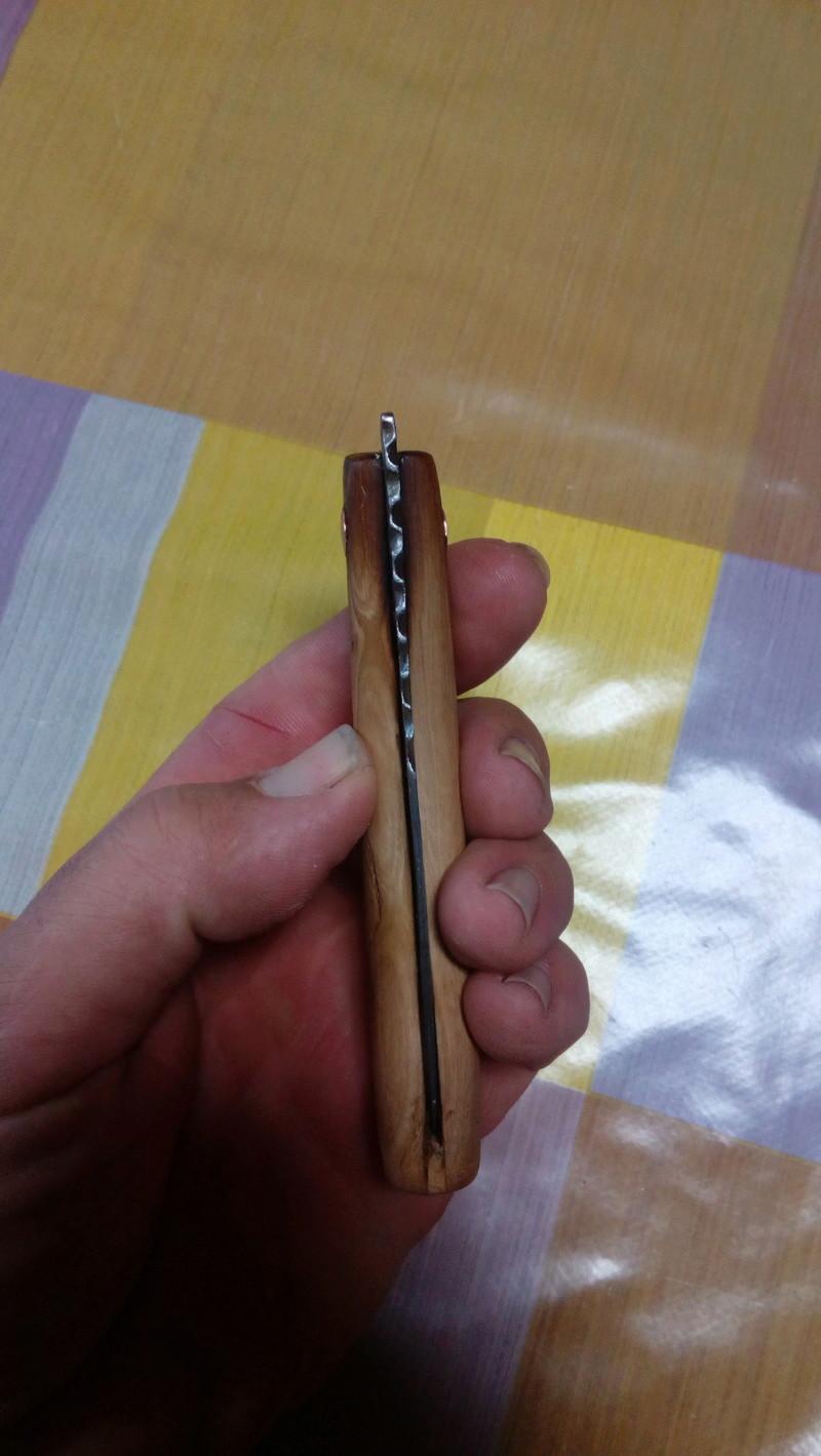 Navaja de friccion hecha a a partir de una lima. Img_2031