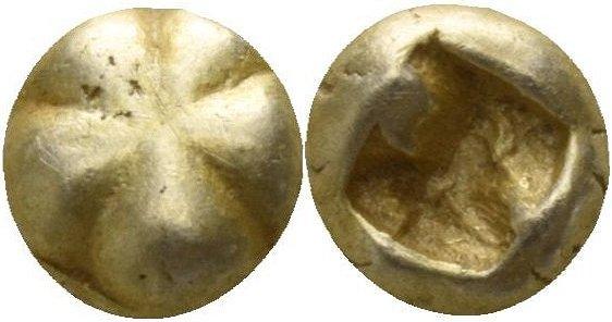 1/48 de estatera de electron, Jonia, ceca incierta. 600-550 a.C. 29912