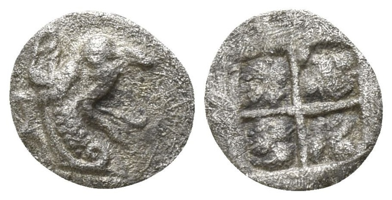 Tetartemorion de Teos (Jonia), ca. 500-475 a.C. 30111