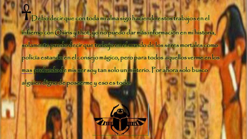 Anubis la llave dorada Egipcia, el Juez Histor13