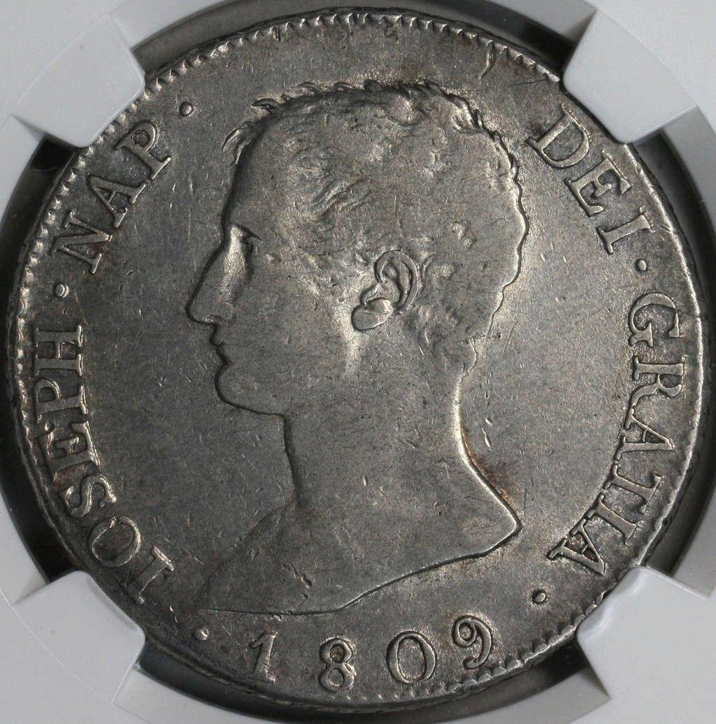 8 Reales 1809. José Napoleón. Madrid IG 110