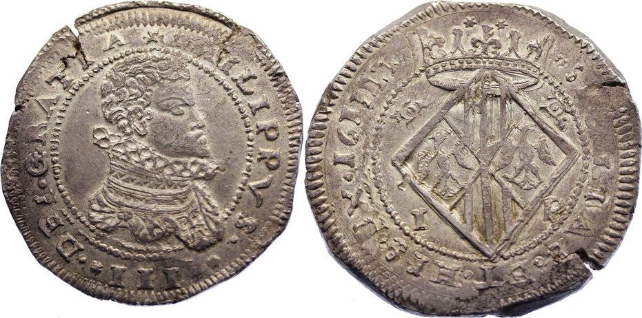 Medio Escudo Felipe III Messina (Sicilia) 1610 DC 15010710