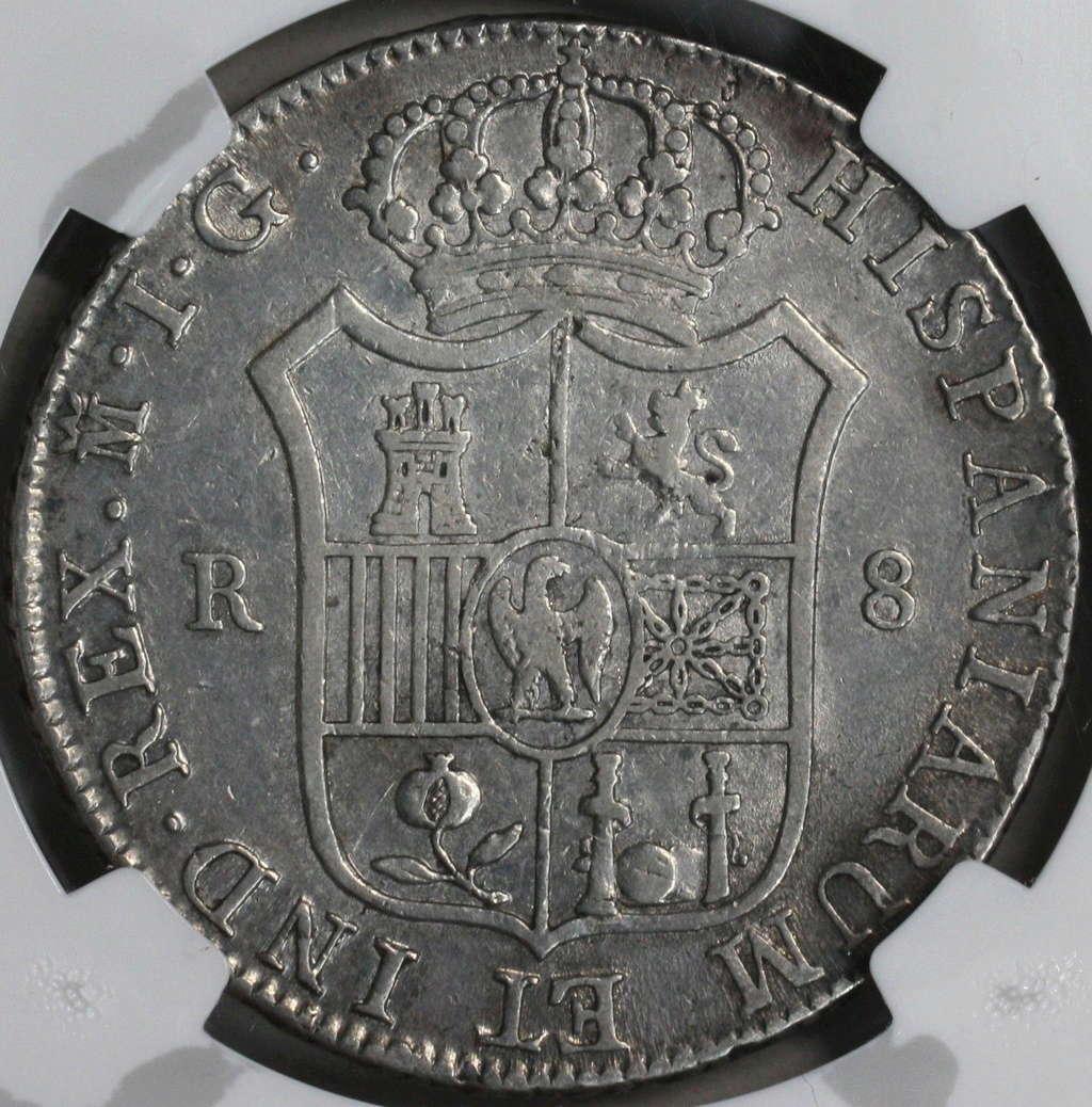 8 reales 1809. José Napoleón. Madrid 210