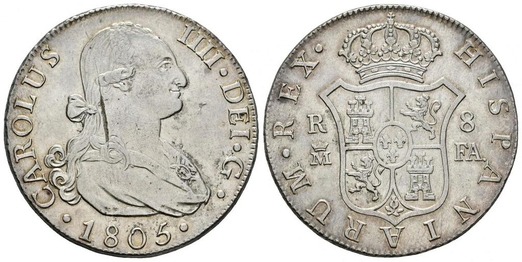 8 reales 1805. Carlos IV. Madrid 31523811