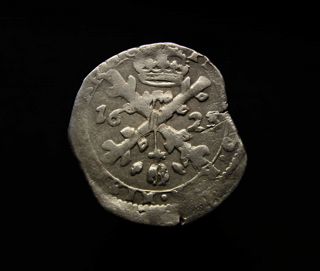 Mini patagón de Felipe IV, 1623. Dola, Condado de Borgoña. 1/32 Patagón. C9fa5211