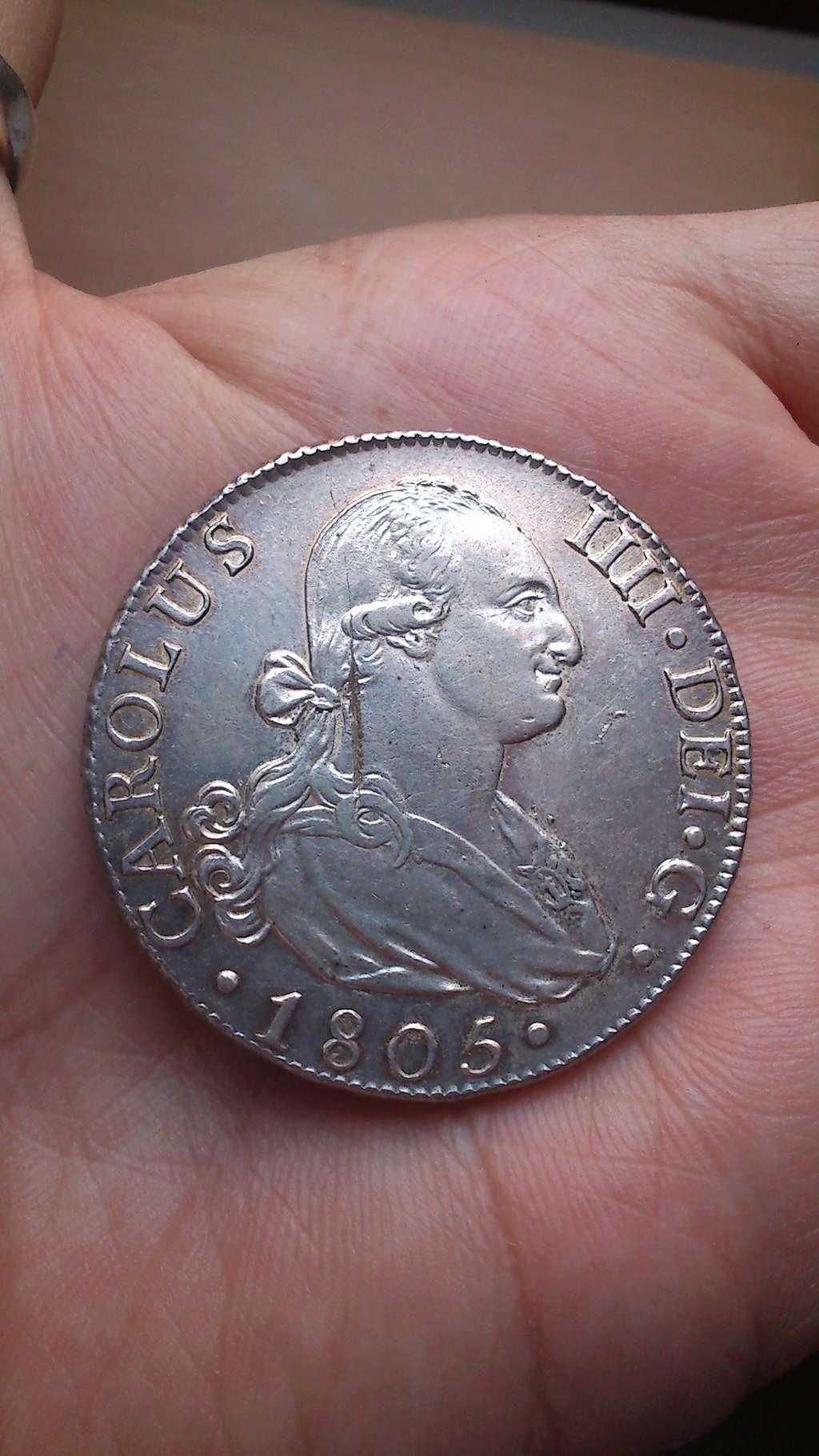 8 reales 1805. Carlos IV. Madrid Dsc_0010