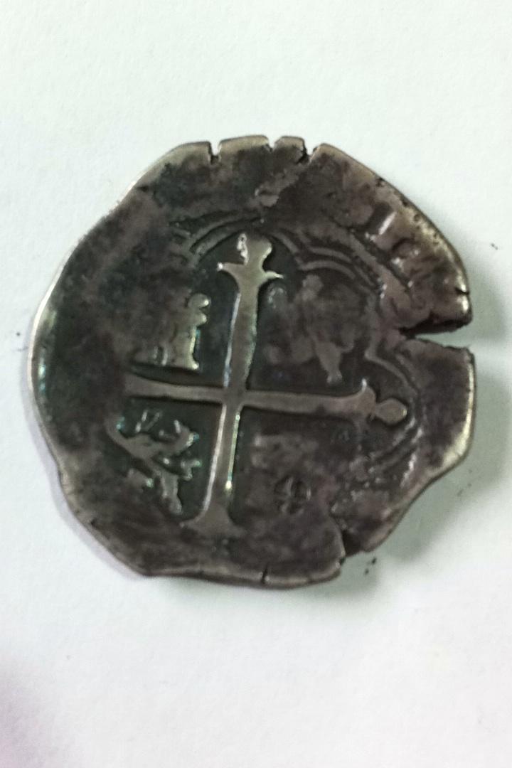 "4 reales Felipe III - 1617 - Toledo. Contramarca ""Cruz potenzada"". Image10"