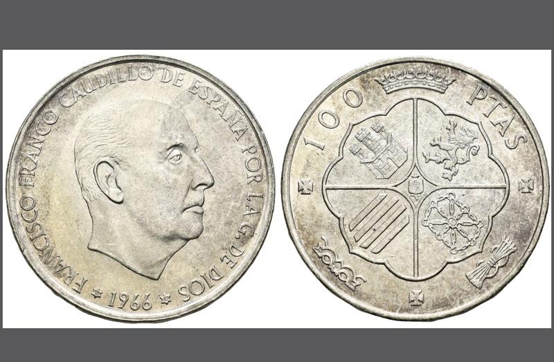 100 Pesetas 1966 (*19-69). Estado Español. Palo Recto Img_0510