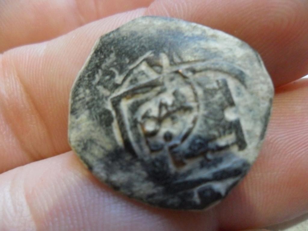 VIII maravedís  de Felipe III o IV(?), ceca Segovia, resellados. Sam_3712