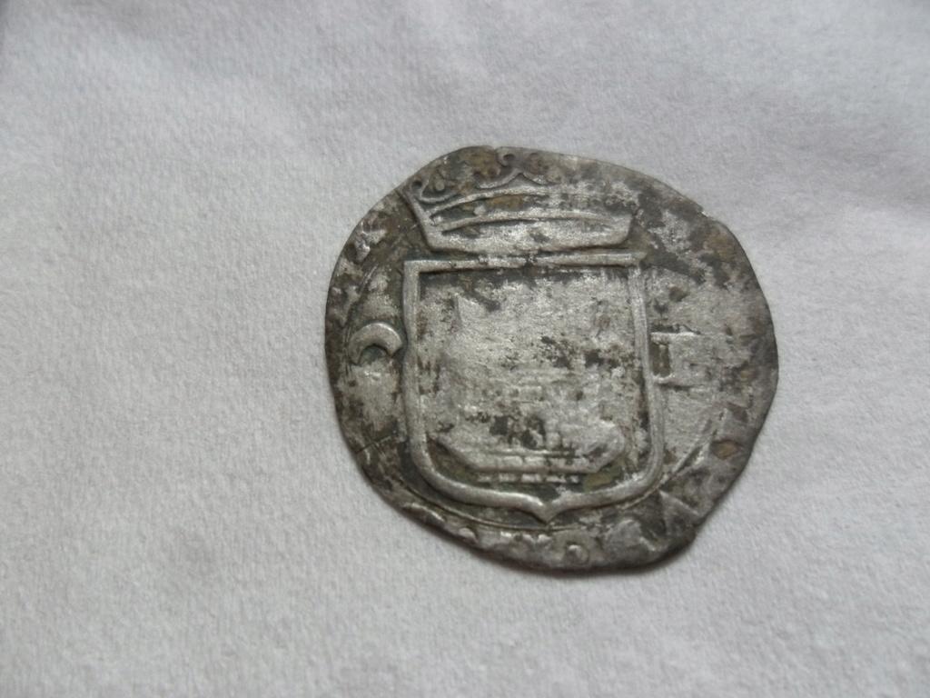 un cuartillo de Felipe II ,ceca de  Burgos Sam_3820