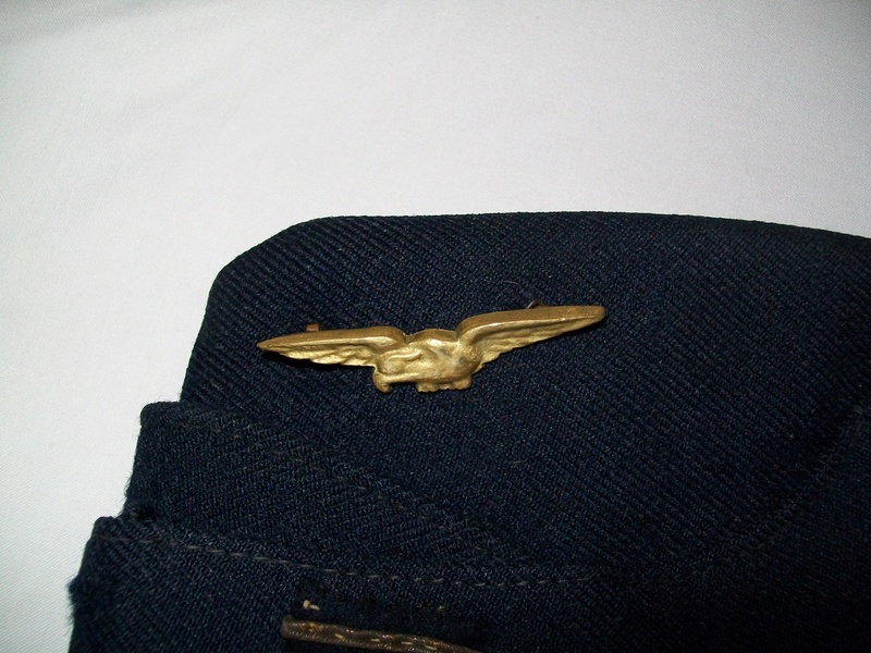 Calot RAF réemploi français. 100_3137
