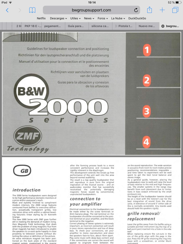 En qué años se fabricó la Serie 2000 de cajas B&W ?? D3dd7910