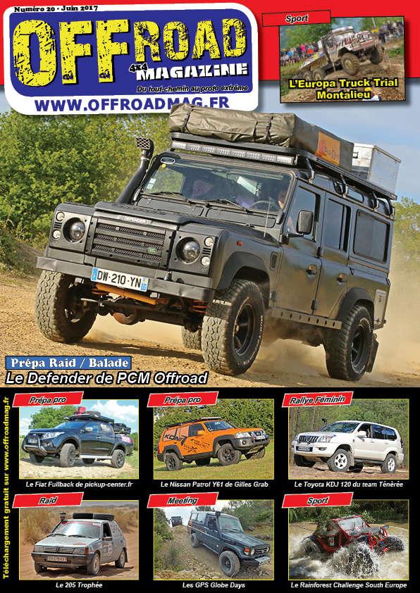 Le numéro 20 d'Offroad 4x4 Magazine est en ligne ! Couver10