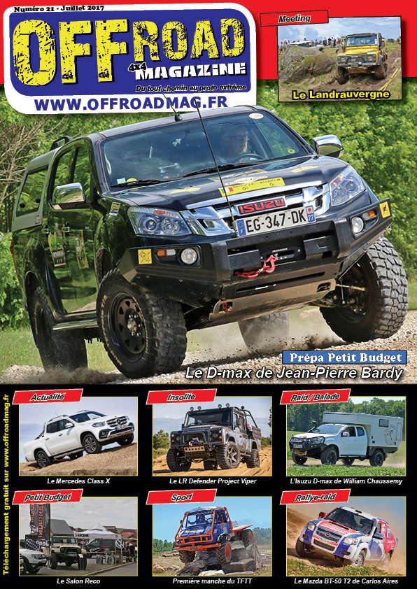 Le numéro 21 d'Offroad 4x4 Magazine est en ligne ! Couver11
