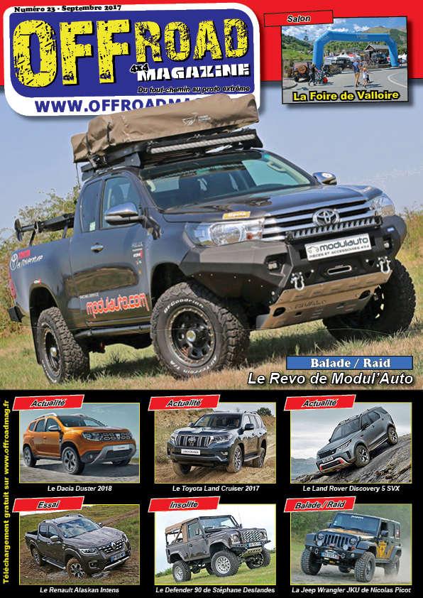 Le numéro 23 d'Offroad 4x4 Magazine est en ligne ! Numero10