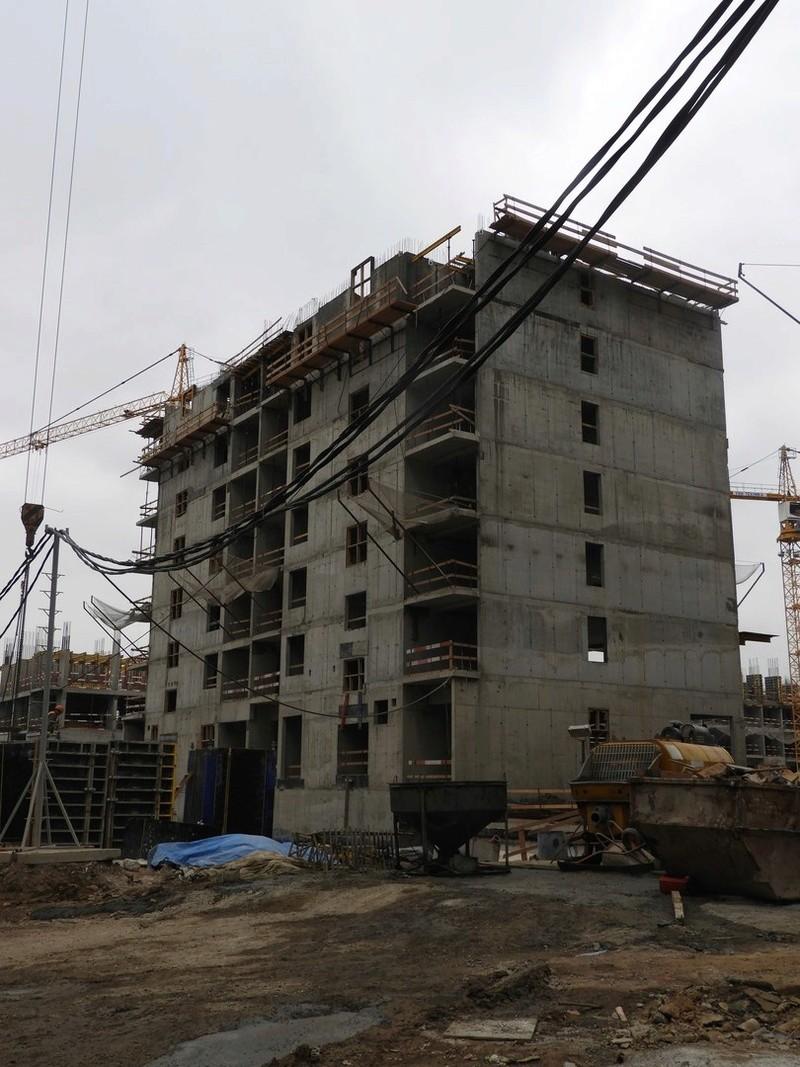 Котлован под корпус 3В выполнен 2011