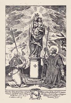 Virgen del Pilar / Corporales de Daroca [ R.M. SXVIII-C133](MAM) 1-cast10
