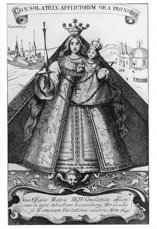 Virgen Maria de  KEVELAER (Renania) / Sagrada Familia, (R.M. SXVIII-Ot 18)(MAM) Img_0910