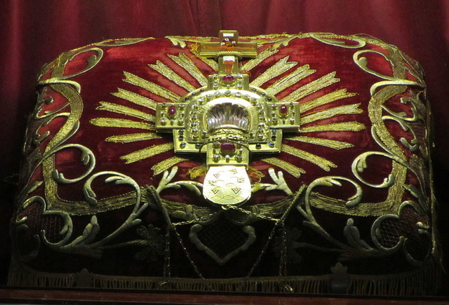 Cinco Llagas de Cristo / Relicario Santa  Sangre de Weissenau, S. XVIII (R.M. S.XVIII-C142) Reliqu10