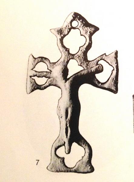 Cruz de peregrinación, S. XVII-XVIII San_bl11
