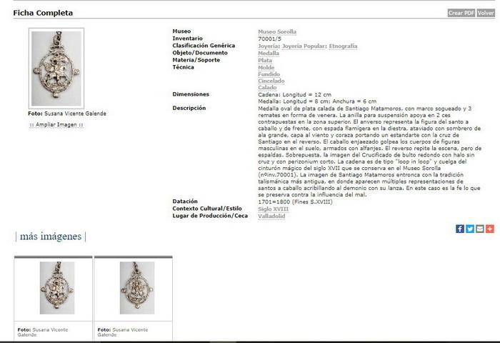 Medalla de ventana de Santiago matamoros y Jesucristo (R.Cat. PFV Matamoros 6 y Crucificado 5) Santia10