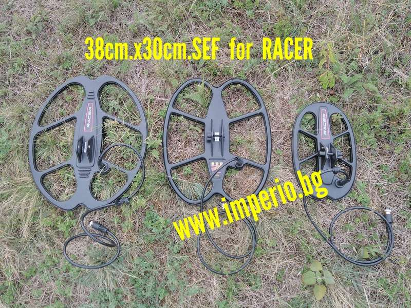SEF 38X30cm. търсеща сонда за металотърсач Makro Racer 2 Img_2024