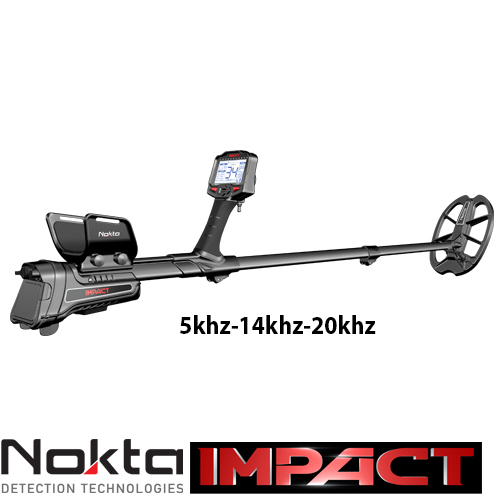 Nokta Impact и плажно търсене Nokta-10