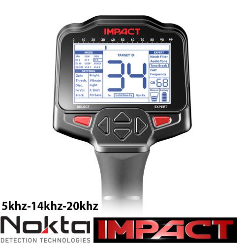 Nokta Impact и плажно търсене Nokta-11