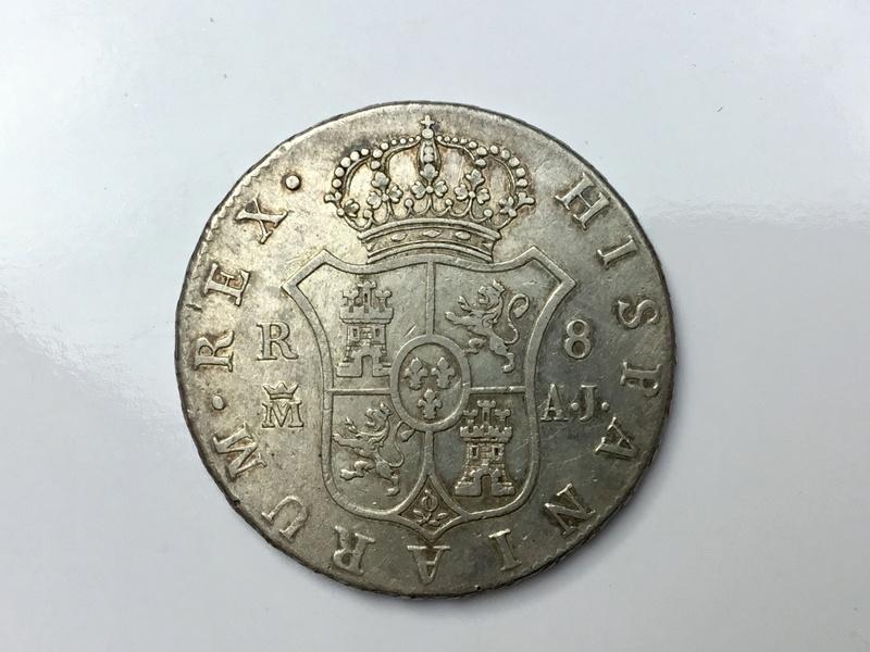 1824 Madrid AJ. 8 reales Fernando VII Img_0631