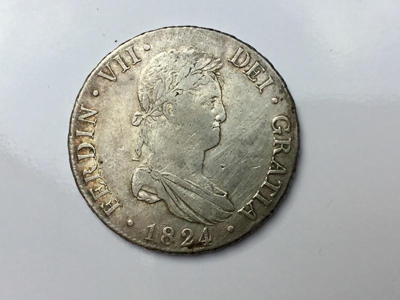 1824 Madrid AJ. 8 reales Fernando VII Img_0632