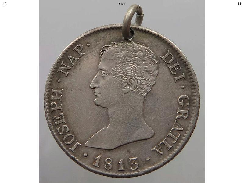 10 reales 1813 RN Madrid.  José Napoleón Img_0715